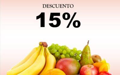 (En tienda física) Los MIÉRCOLES la vida me sabe a fruta