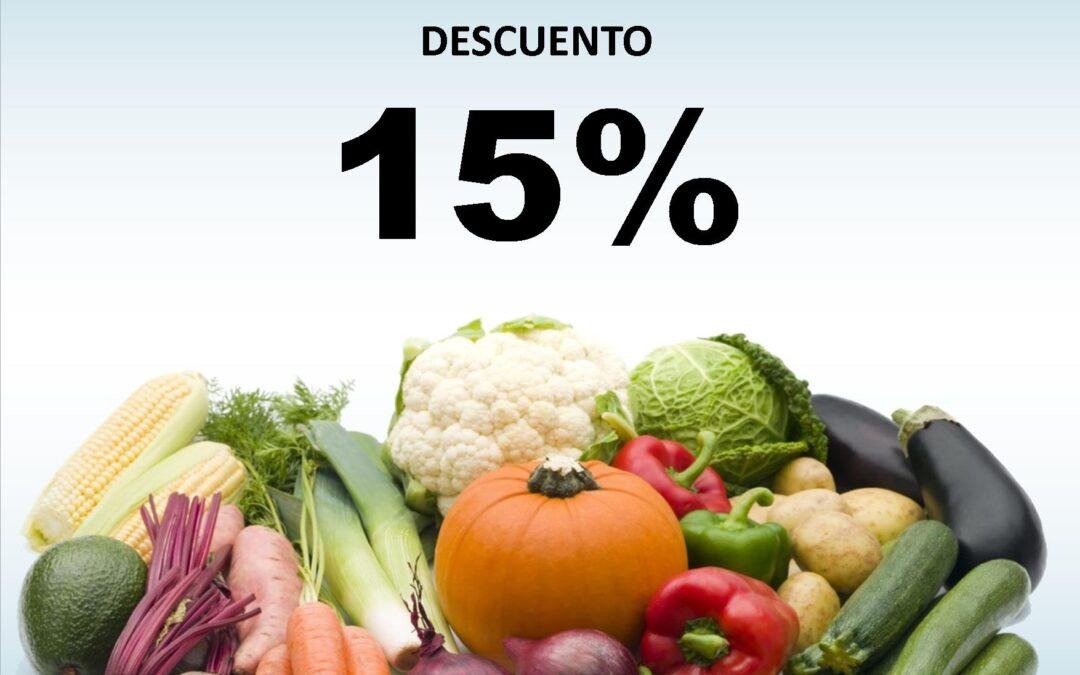 (En tienda física) Los VIERNES con verdura y a lo loco