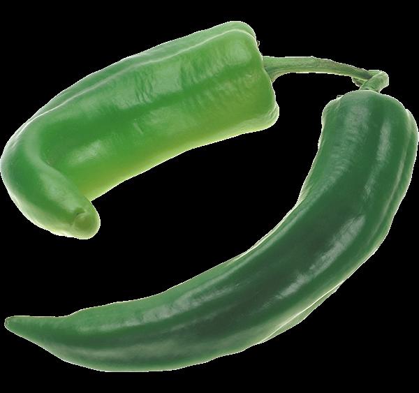 dos pimientos verdes italianos tienda ecológica ECOMARKT